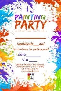 Invitatie-Painting-Party-Art&Fun