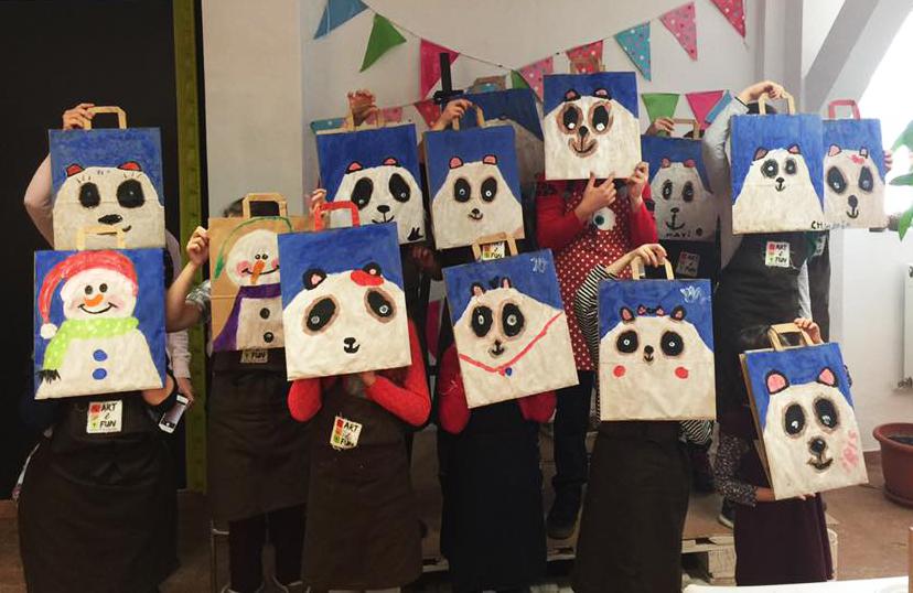 petreceri pictura copii